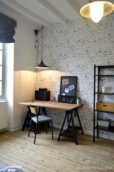 Awesome Deco Chambre Industrielle that you must know, You're in good company if you're looking for Deco Chambre Industrielle Home Office Design, Home Office Decor, House Design, Home Decor, Teenage Room, New Room, Ikea, Bedroom Decor, Bedroom Ideas