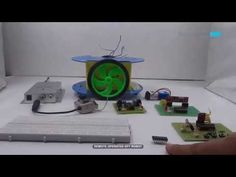 Remote Operated Spy Robot Circuit