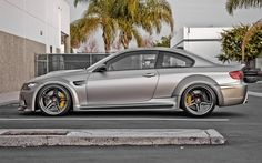 "2011 Vorsteiner (based on BMW . - 2011 Vorsteiner (based on BMW automotive-lust: "" Not quite sure about the 'pontoon'-style wheel wells, but cool! E90 Bmw, Bmw M4, Wide Body Kits, Cool Garages, Tuner Cars, Car Tuning, Car Engine, Modified Cars, Car In The World"