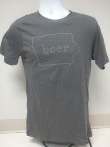 Size XL Guinness Beer Nitro IPA Mens Short-Sleeve T-Shirt NEW Light Gray