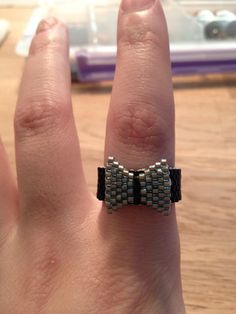Bead ring - peyote stitch