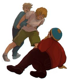 BEAT HIM UP KENNY!! Fatass... Awwwwee! Butters!