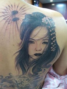 Geisha Tattoo idea