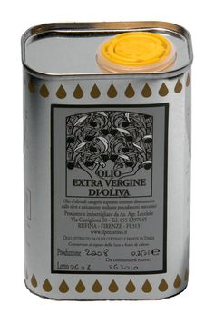 extra virgin oil -can