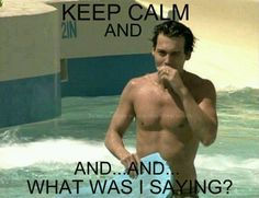 Who Can Keep Calm When Johnny's Involved?!?
