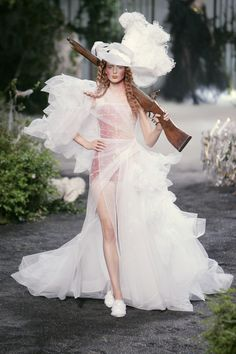 Christian Dior at Couture Fall 2005 - StyleBistro