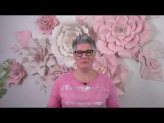 Je vois la vie en rose avec de belles fleurs géantes - Natacha Créative