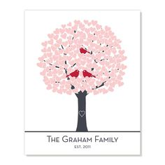 Art Print: Personalized Family Tree