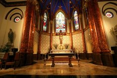 St. Mary's cathedral in Austin...inspiration for the cathedral in the series
