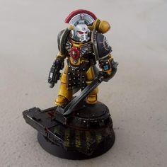 The Horus Heresy, Imperial Fist, Warhammer 30k, Space Marine, I'm Happy, Marines, Mini, Im Happy, I Am Happy