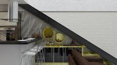Projeto conceitual Loft Industrial. Projeto Designer Daniel Oliveira. #vinho #adega #lacaamarela #detalheescada #danieloliveiradesign #designerdanieloliveira #decoralar #interiordesign #decoracao #design #coronarender #urbanarts #3dmax #light #3dproject #hometheater #loft #quadro #artdesign #popart  #tijolo #tijoloaparente #projetodeinteriores #decoracao #decor #simonetto #moveis #decoracao