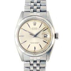 Rolex 《R's》ロレックスデイトジャスト1603SS1947年製メンズ 時計 Watch Antique ¥228000yen 〆11月20日