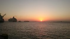 Por do sol em Salvador