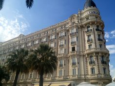 Carlton Intercontinental, Cannes Intercontinental Hotels Group, Personal Photo, Cannes, Places Ive Been, Louvre, France, Building, Travel, Viajes