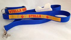 Stella will look great in her new ID Collar and matching Double Grip Control Leash !  #Stellllaaaa !  www.facebook.com/wagzwear Dog Id, Looks Great, Collars, Your Style, Personalized Items, Facebook, How To Wear, Products, Fashion