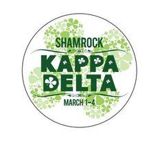 Kappa Delta Shamrock Sorority Life, Sorority Shirts, Kennesaw State, Greek Shirts, Kappa Delta, Community Service, College Life, Typography, Loyalty