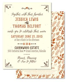 Unique Outdoor Wedding Invitations on Plantable Paper ~ In the West by ForeverFiances Weddings Outdoor Wedding Invitations, Western Invitations, Unique Wedding Invitation Wording, Wedding Invitation Cards, Wedding Stationery, Wedding Planning Guide, Invitation Paper, Wedding Wishes, Rustic Wedding