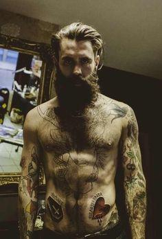 #scarybeard #broda #tatuaż
