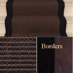 stair runner sisal chocolate boucle will bring a boutique hotel elegance to any hallway.Choose this stair runner if you want smart and practical . Rug Runners, Sisal, Carpet Runner, A Boutique, Home Depot, Stairs, Chocolate, Staircases, Rugs