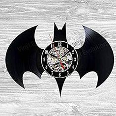 Batman Arkham City Logo Wall Clock