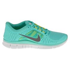 Nike Women's Free Run+ 3 Running Shoes - Tropical Twist/Pure Platinum/Reflective Silver