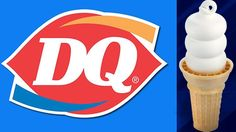 Dairy Queen cone with a curl on the top.