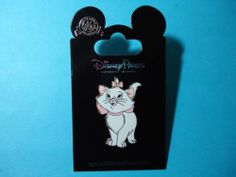 Disney Aristocats Marie White Cat Pin New on Card | eBay