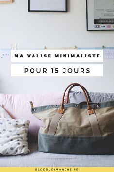 Ma valise minimaliste pour 15 jours - What Is Responsible Travel? Tips for responsible travel Responsible Travel, Travel News, Travel Light, Travel Alone, Travel Packing, Packing Lists, Adventure Travel, Travel Photos, Traveling By Yourself