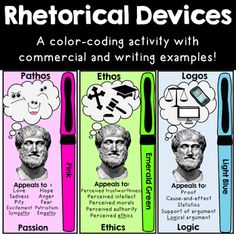 which rhetorical devices can you use in this essay