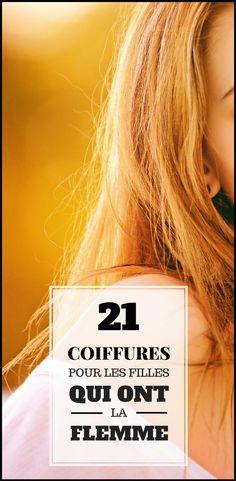 Ce n'est pas parce que vous avez la flemme, que vous devez ressembler à n'importe quoi ! Nous vous avons déniché des tutoriels coiffures super simples et hyper chic pour la princesse flemmarde que vous êtes Voici les 21 meilleurs tutoriels de coiffure. J'espère que cela vous plaira.