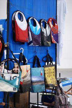 upcycled bags by TRASHKI