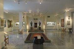 The hall of the Benaki Islamic Art museum