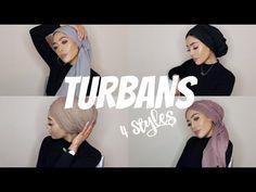 MY MOST WORN TURBAN STYLES | Hijab Tutorial | MishaArtistry - YouTube