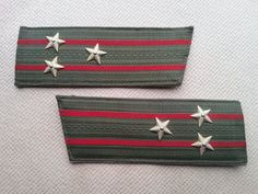 Soviet Colonel shoulder straps  Soviet vintage Colonel