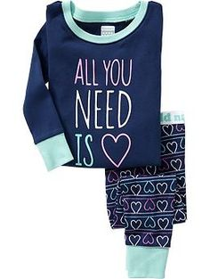Love PJ Sets for Baby | Old Navy
