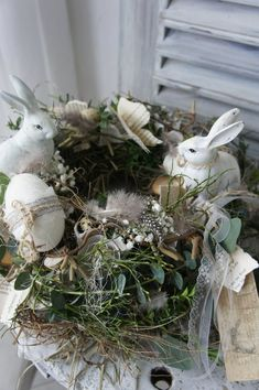 Your platform for buying and selling handmade items, Table wreath Spring Festival on the meadow . Easter Wreaths, Christmas Wreaths, Selling Handmade Items, Spring Festival, Easter Holidays, Diy For Teens, Garland, Etsy, Shabby