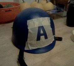 DIY Captain America helmet