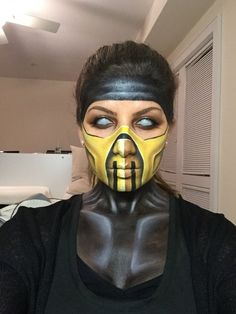 This girl's scorpion costume is so over the top, who ever your boyfriend is, MARRY HER!