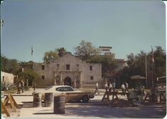 TEXAS~The Alamo in San Antonio Tx 1976