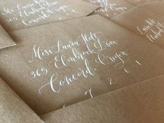 The Ginger Pen Lettering Studio - hand lettering, calligraphy, modern calligraphy Brush Lettering, Hand Lettering, Addressing Envelopes, Modern Calligraphy, Note Cards, Gift Tags, Notes, Studio, Gifts