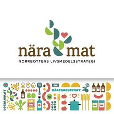 In a partnership with Smeder Ord & Tanke, we worked with Nära Mat, Norrbotten food strategy - a project run by LRF Norrbotten, County Administrative, Norrbotten County Council. We have designed the logo, visual identity and design as well as produced invitations, Web and presentation materials.