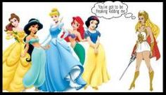 Princesses were MUCH COOLER when I was a kid