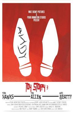 Toy Story 3 Minimalist poster