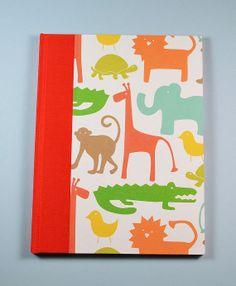 Baby Journal Keepsake Book  JUST SO handmade in by WolfiesBindery, $25.00