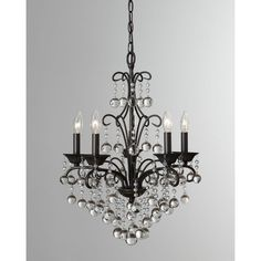 Mini Chandelier ($450) ❤ liked on Polyvore