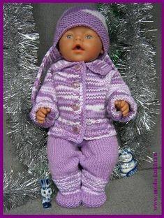 Костюм на беби-борн: жакет, шапочка, штанишки, носочки.