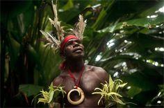 the archipelago of Vanuatu-'Smol Namba' Chief Ayar Randes – Wintua, South West Bay, Vanuatu, 2010