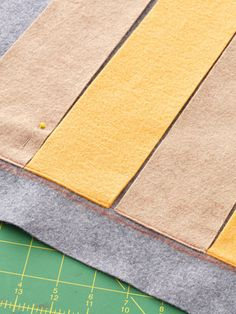 Cozy Coverlet: Step 1-3  (very light sewing, mostly braiding the felt pieces through each other!)  Nice tutorial from BHG.