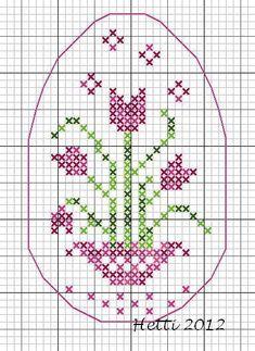 Creative Workshops from Hetti: Paasei Tulp / Easter egg Tulip Freebie