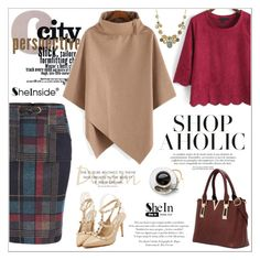 SheIn by aurora-australis on Polyvore featuring polyvore, fashion, style, clothing and Sheinside